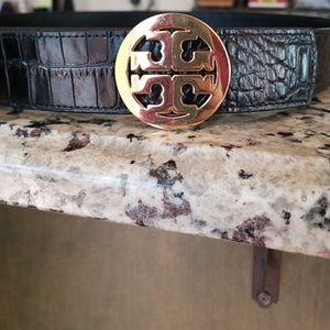 Tory Burch reversible black belt